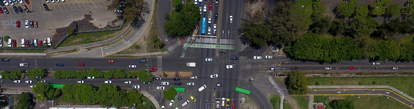 cruce donde se hará la obra de viaducto belenes